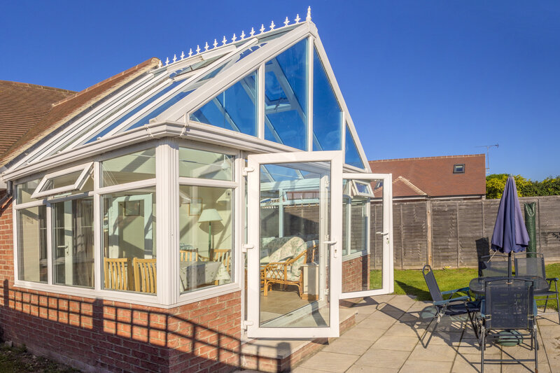 Glass Conservatory in Portsmouth Hampshire